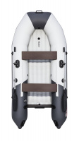 "Лодка ПВХ ""Таймень"" NX 2900 НДНД светло-серый/графит Л-447"