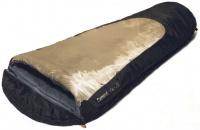 Спальный мешок Campus FUN 250 L-zip (0 до +17)(кокон), 215*80*55, черн/беж 4-8447
