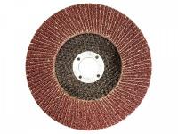 "Круг лепестковый торцевой ""БАЗ"" для шлифования, тип КЛТ 1, KK19XW, зерно-электрокорунд нормальный, P60, 125 х 22 мм 36563-125-60"
