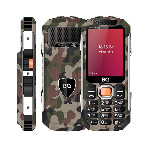 Сотовый телефон BQ 2817 Tank Quattro Power Camouflage