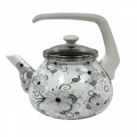 Чайник 2,2л со стекл. кр. Кружево