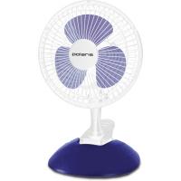 Вентилятор Polaris PCF 1015B настольный белый/фиолетовый
