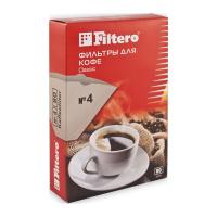 Фильтры для кофеварок Filtero №4/80