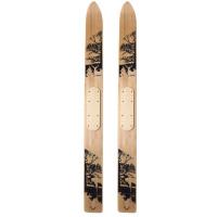 Лыжи промысловые Deer деревянные (165см, краска) (шир 150мм) 4-19705
